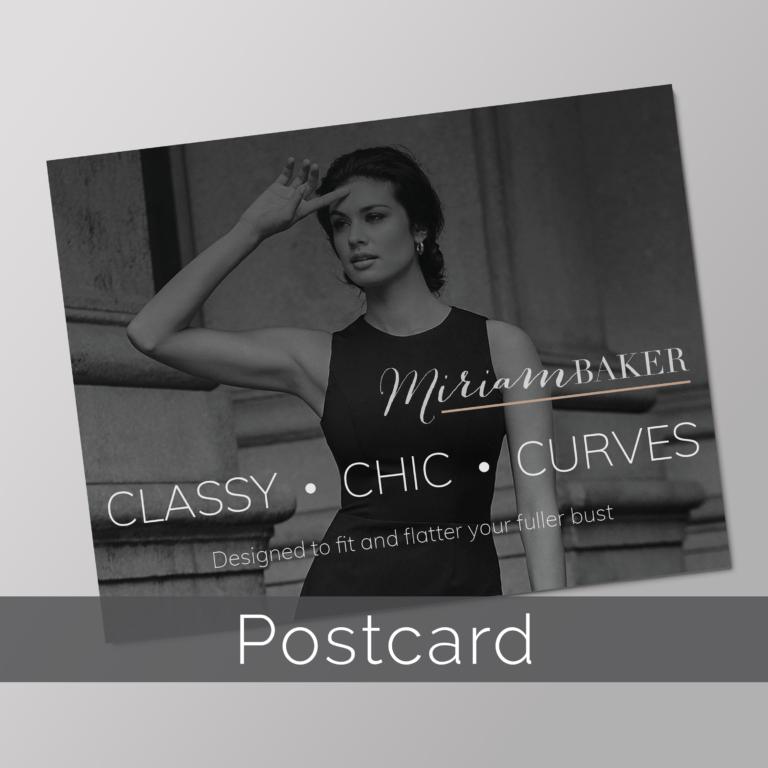 Miriam Baker Postcard