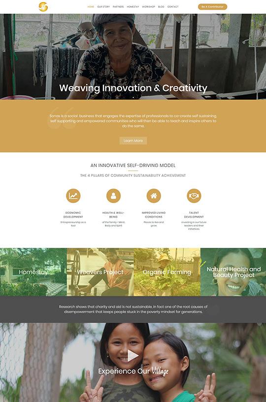 Sonas Homepage