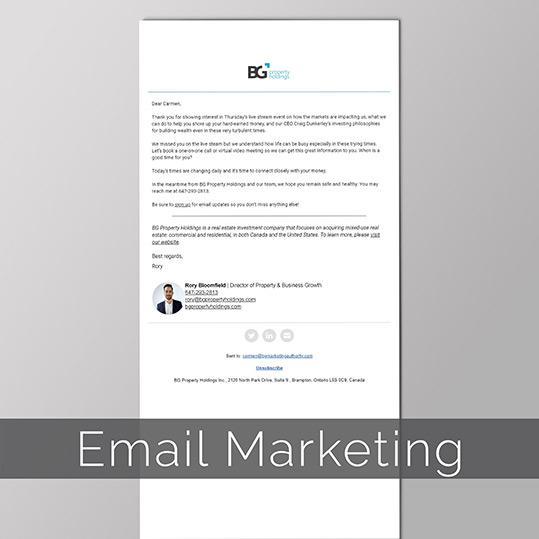 BGPH Email Marketing