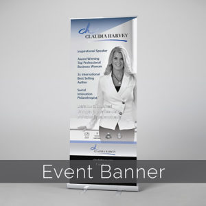 Claudia Harvey Banner