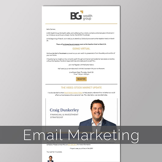 Craig Dunkerley Email Marketing