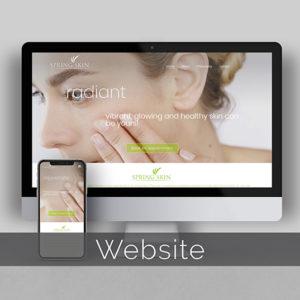 Spring Skin Website