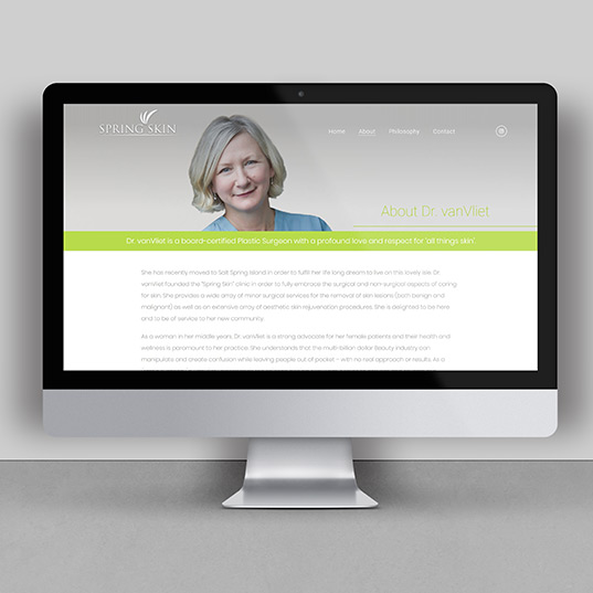 Spring Skin Website Page 2