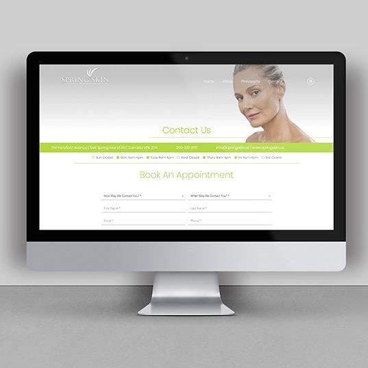 Spring Skin Website Page 3